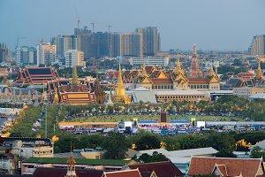 Temple of the Emerald Buddha, Wat Phra Kaew, Bangkok Thailand