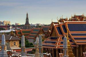 Temple of Dawn, Wat Arun, Bangkok, Thailand