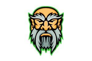 Cronus Greek God Mascot