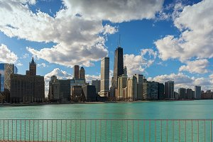 Chicago City Skyline, Illinois, USA