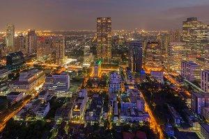 Bangkok Skyscrapers, Thailand