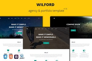 Wilford – Responsive Agency Template