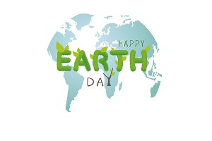 Earth day concept design