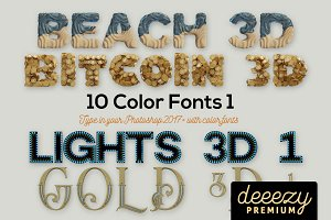 10 Color SVG Fonts 1