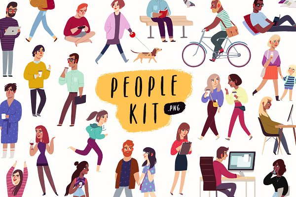 Graphics: Darumo Shop - People Kit
