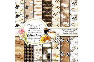 Coffee Time Paper Pack