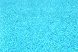 Clear Blue Water Swimming Pool, texture background