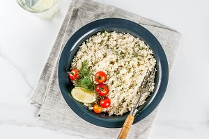 Couscous with fresh herbs