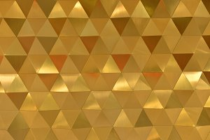 Orange Abstract Hexagonal Shapes Background, wallpaper