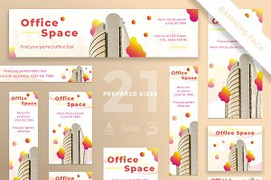 Banners Pack | Office Space