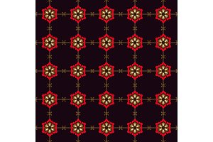 japanese seamless pattern flower