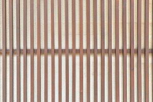 Wood slat wall texture, background