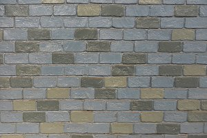 Grey Brick, wall pattern, seamless texture