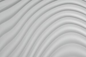 3D Abstract Background of Grey White Curve Lines, illustration