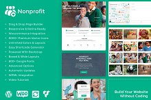 Nonprofit WordPress Theme by  in Non-Profit