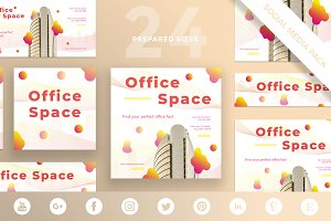Social Media Pack | Office Space
