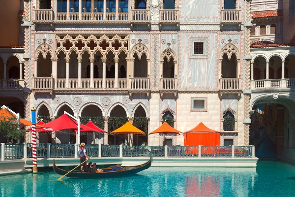 Architecture Stock Photos: Tampatra - The Venetian, Las Vegas,nevada,  USA