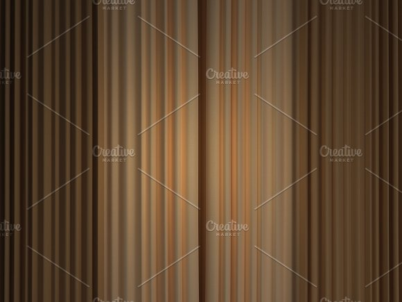 3D Pattern of Curtain