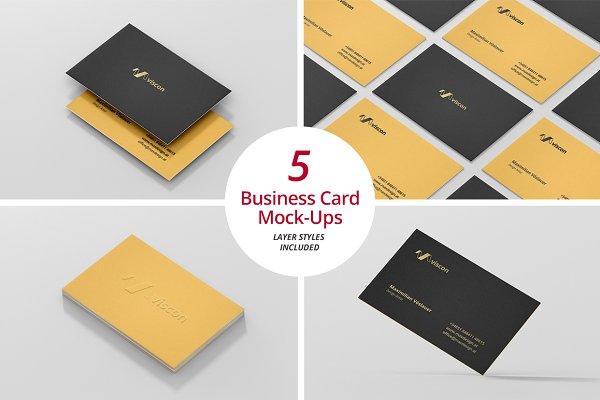 Business Card Mock-Ups