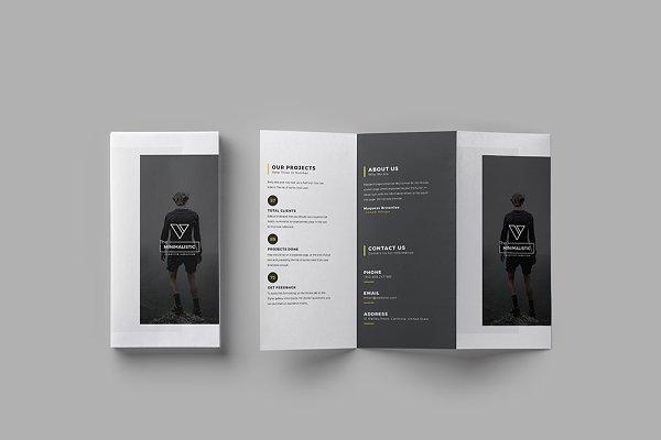Minimalistic Tri-fold Brochure
