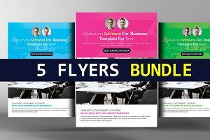 5 Idea Attack - Corporate Flyers