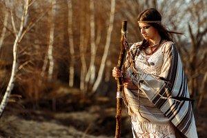 indian american woman shaman