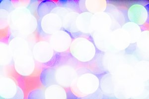 Bokeh with multi colors