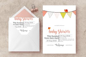 Baptism Invitation Card Temp
