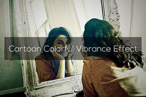 Cartoon Colorful Vibrance Effect