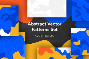Abstract Vector Patterns Set
