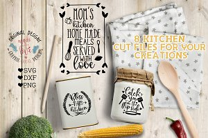 Kitchen Mini Bundle 8 Designs