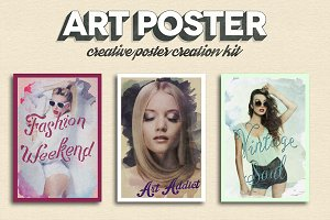 Art Poster Kit + Free Bonuses