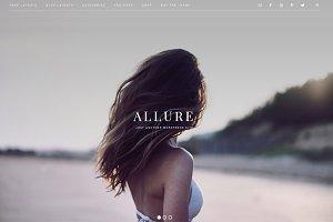 Allure - Feminine Genesis Theme
