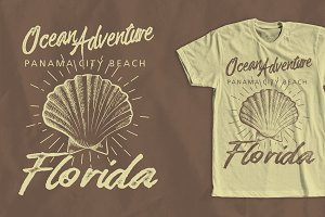 Ocean Adventure T-Shirt Design