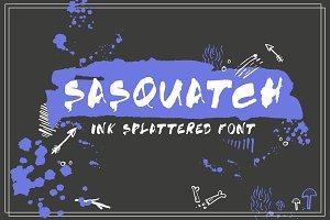SASQUATCH Inked Font