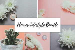 Flower Lifestyle Photo Bundle