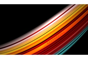 Abstract wave lines fluid color stripes