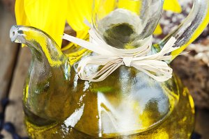 sunflower oil and sunflower