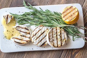 Grilled Camembert