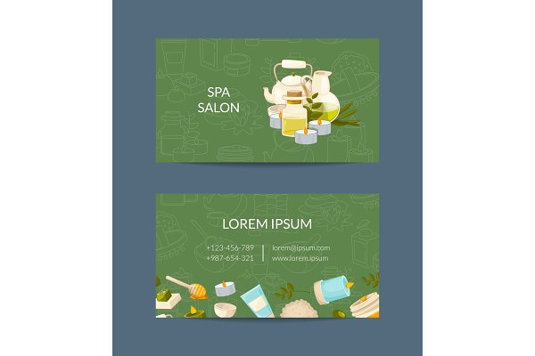 Vector business card template for b…