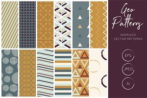 Geometric Vector Patterns