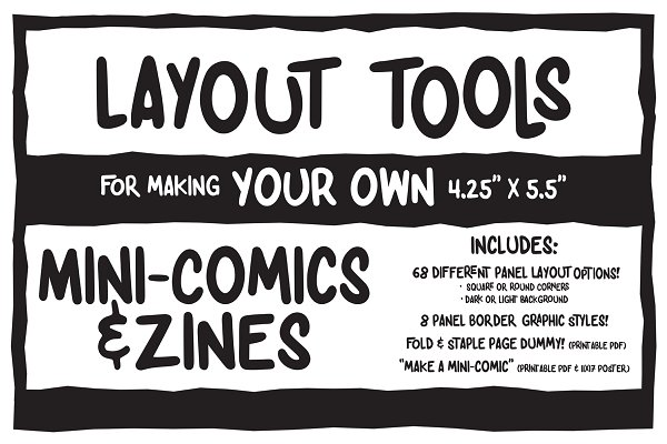 Add-Ons: Artcore Supply Co. - Mini-Comic & Zine Making Toolkit