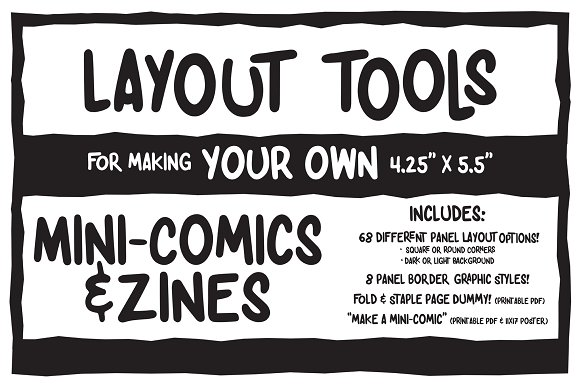 Mini-Comic Zine Making Toolkit