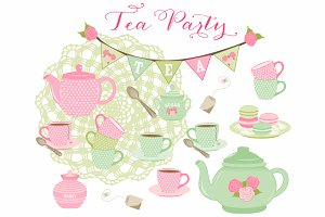 Tea Party & Macarons