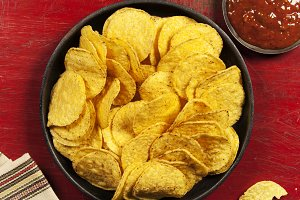 Mexican nachos chips