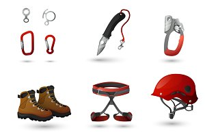Mountain climbing equipment tools