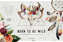 Born To Be Wild - Design Boho Set