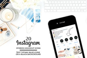 TEXT Theme Instagram Icons