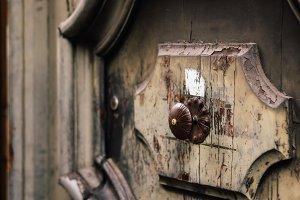 Church door knob