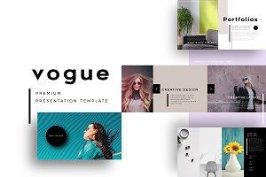 Vogue Keynote Template